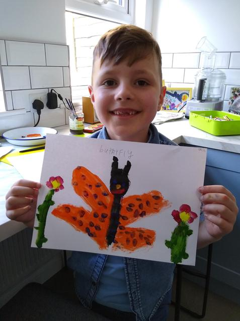 L's Butterfly Picture