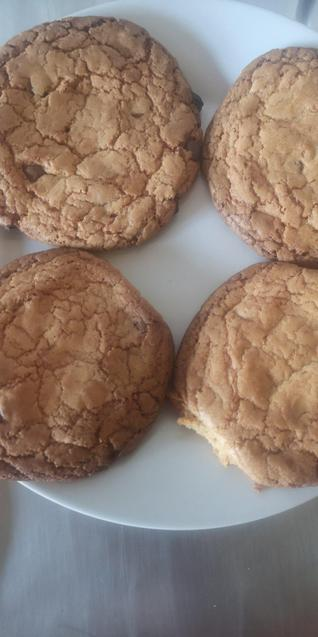 S made lovely chocolate chip cookies