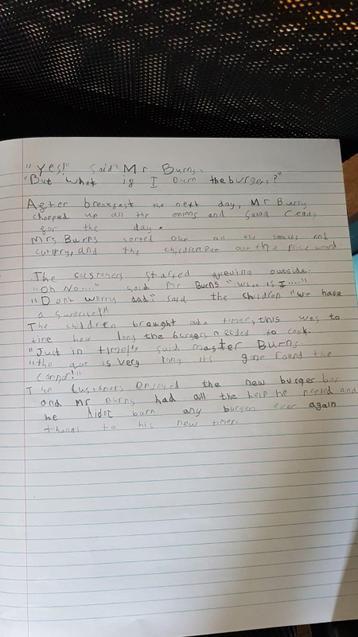 Mr Burns part 2 by Megan
