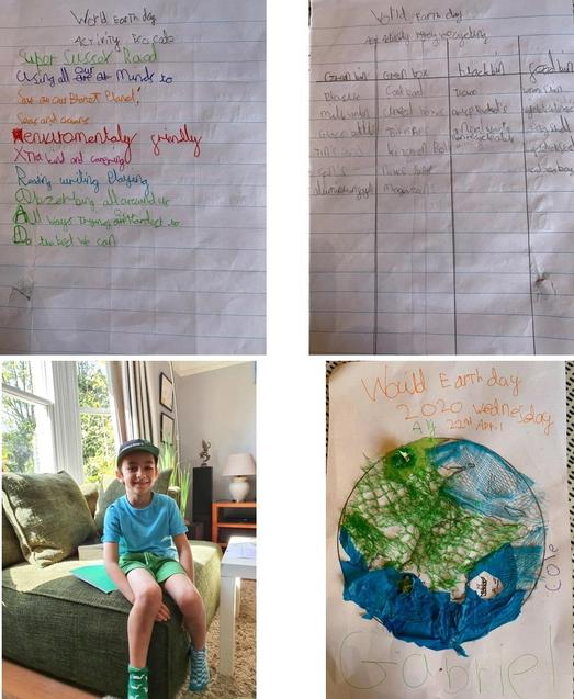 G's Earth Day Activities