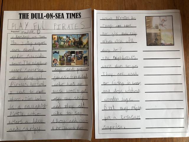 Great writing from Maddie.