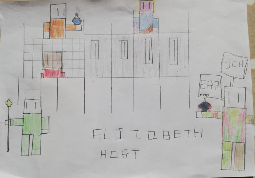 Minecraft by Elizabeth