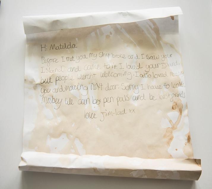 Rosa's creative letter
