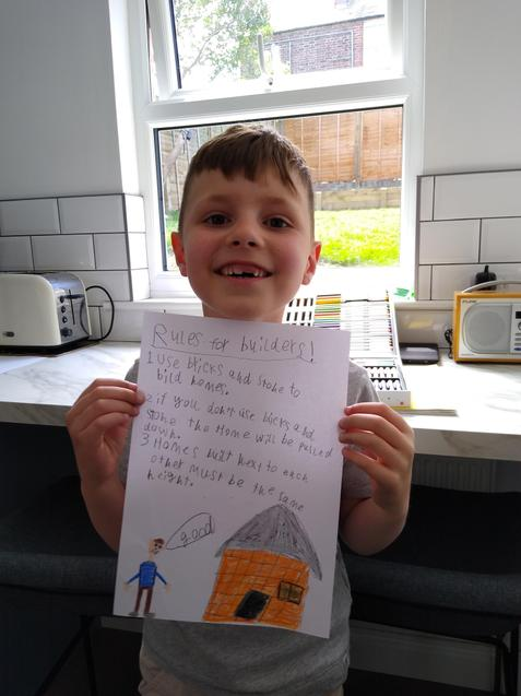 L's great safety poster for the builders of 1666
