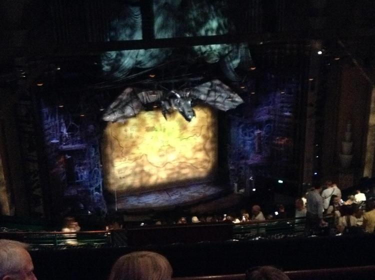 Waiting to watch 'Wicked'