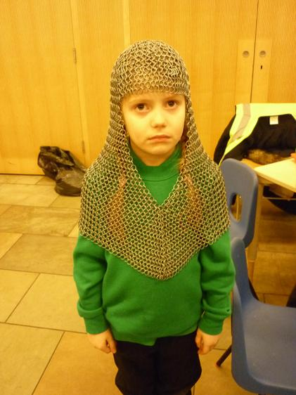 Real chain mail