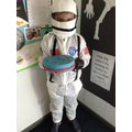 This astronaut made a space cake for our party!
