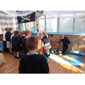 Exploring our new classroom!