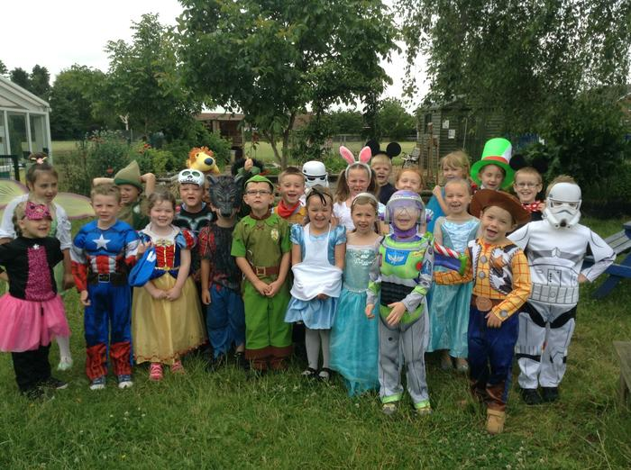 Class 1 love to learn (and dress up!)