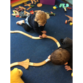 building tracks together