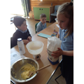 We learnt about the Science of baking.