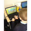 We used ICT to learn how to look after plants too