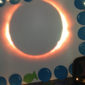 We watched and took photo's of the solar eclipse!
