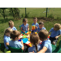 Tea Party in the sun!