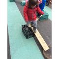 Practising our balancing skills