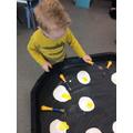 Fried eggs!
