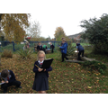We love learning outside.