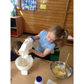 We used what we knew about capacity and weight