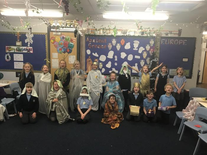 Class 2 performed their own version of The Nativity this year. They had a fab time!