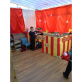 Our circus tent!