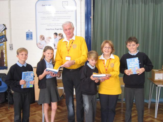 Whitstable Rotary Club a BIG thank you from yr 6.