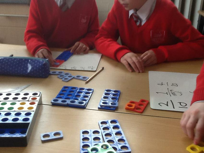 using numicon to explore fractions