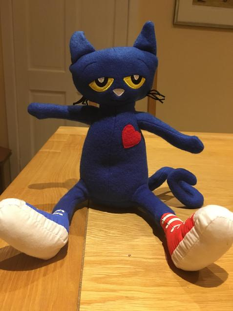 Look out for Pete the Cat!