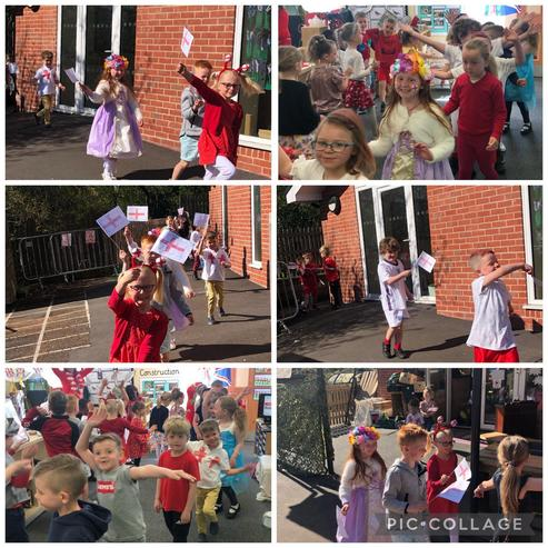 St George's Day procession.