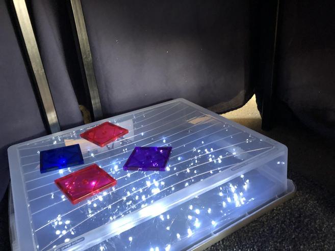 Home made light box