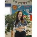 Miss E Edgar (Apprentice Classroom Assistant)