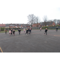 Colour run during Playground Games