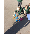 Exploring the best angle so our stomp rockets soar