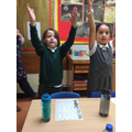 Fun learning the actions to our times tables.