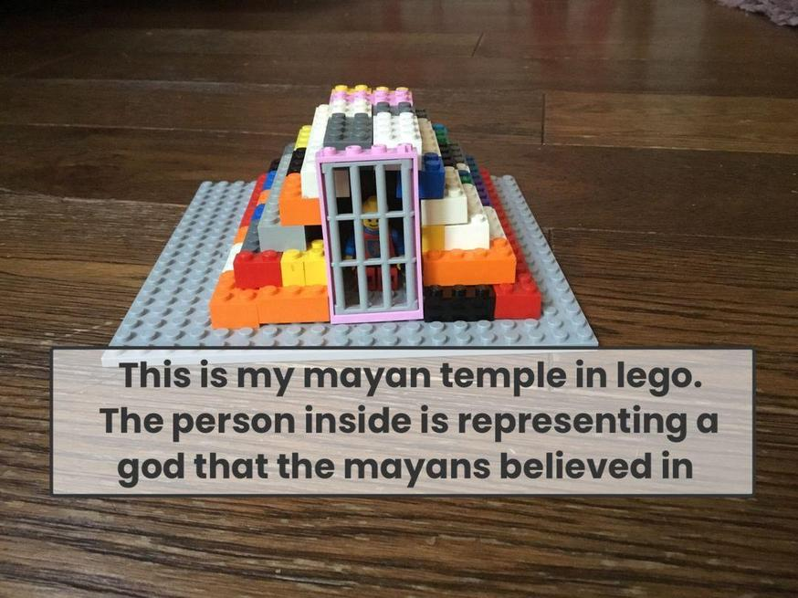 Will built a great Temple