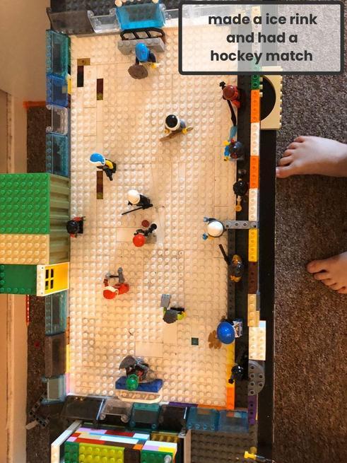 Zachary's wonderful lego creation!