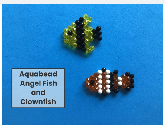 Toby made our class fish from aquabeads