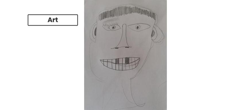 Self portrait by Zac.