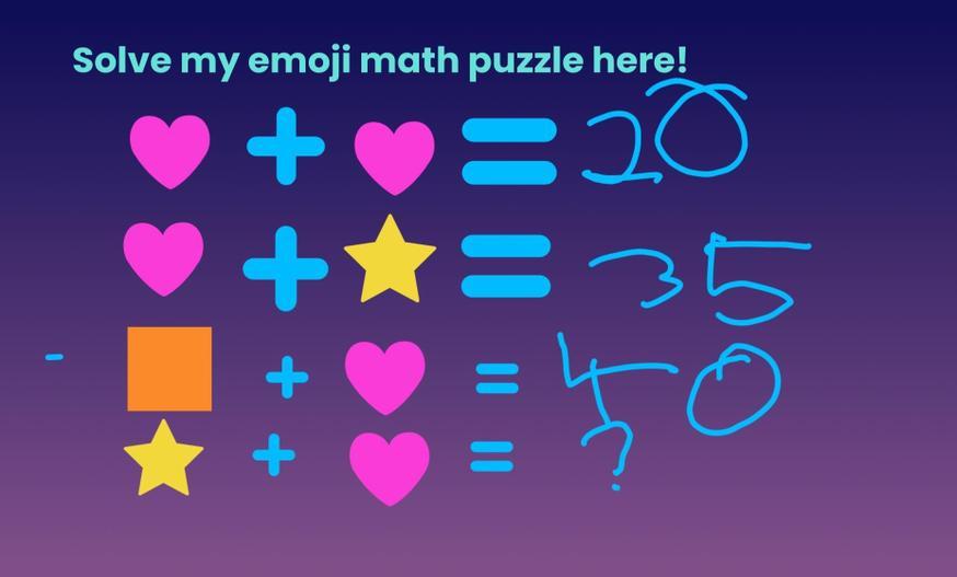 Impressive maths problem made by Ryan.
