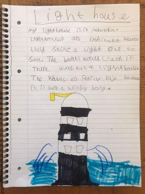 Zoe's amazing writing