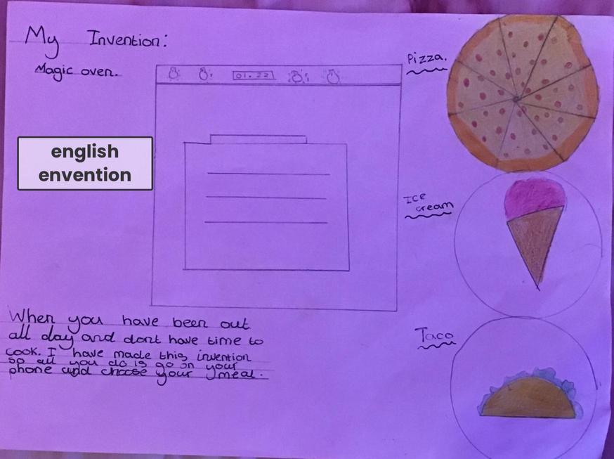 Evie's Invention