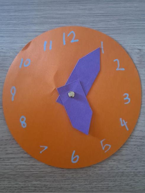 A super clock that Noah made