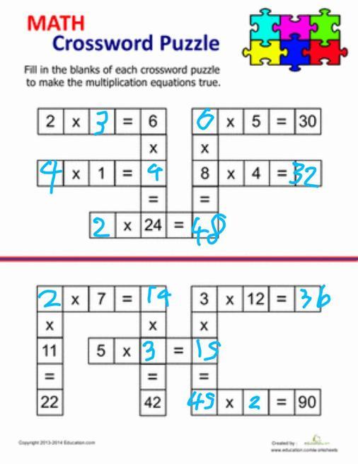 Brilliant multiplication work from Alex.