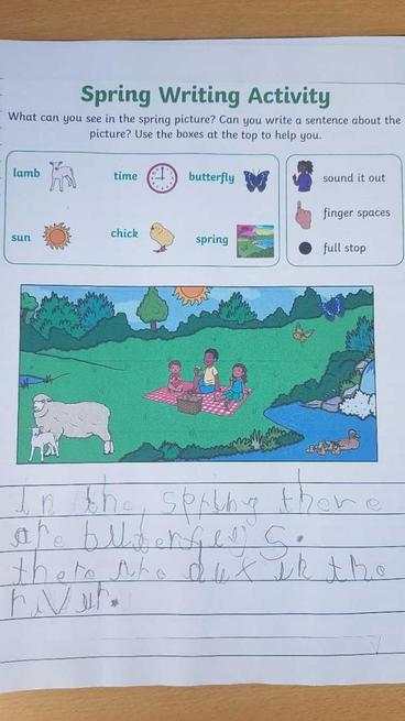 Reuben did some super writing about Spring too.