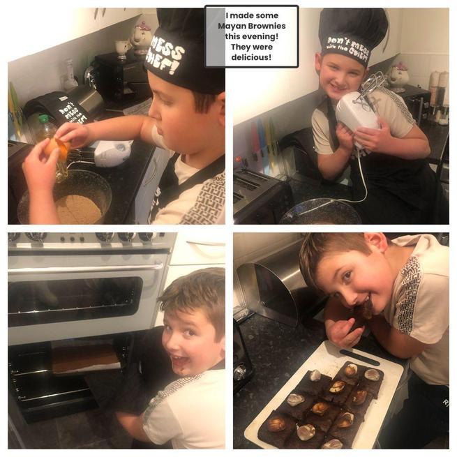 Chef Kieran - Mayan Brownies