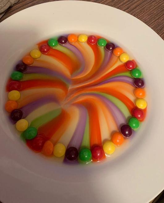 Taste the colour of the rainbow