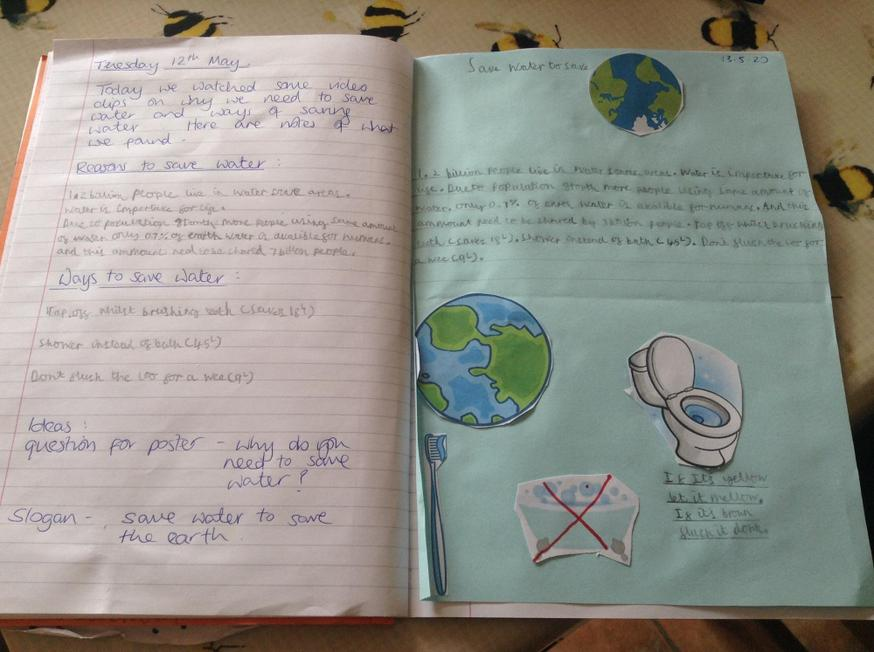 Wonderful research by Peter on how to save water.