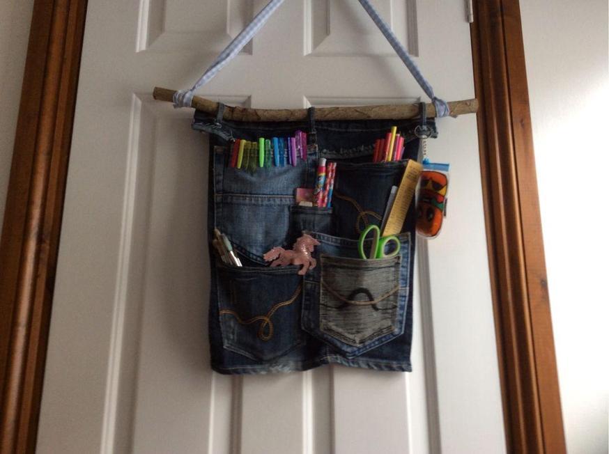 Evie made craft storage