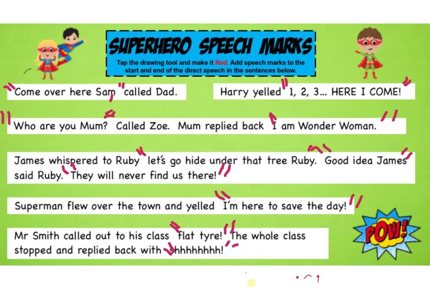 Noah did some brilliant work on speech.