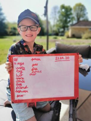 Noah's super spellings