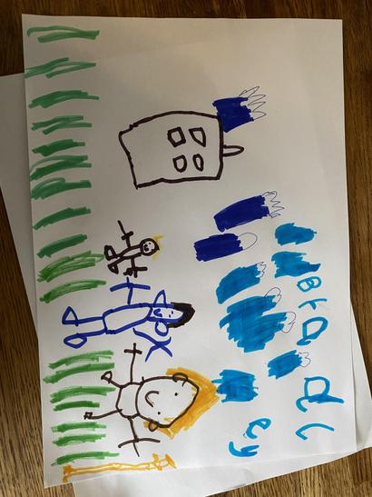 Bradley's super picture of his family